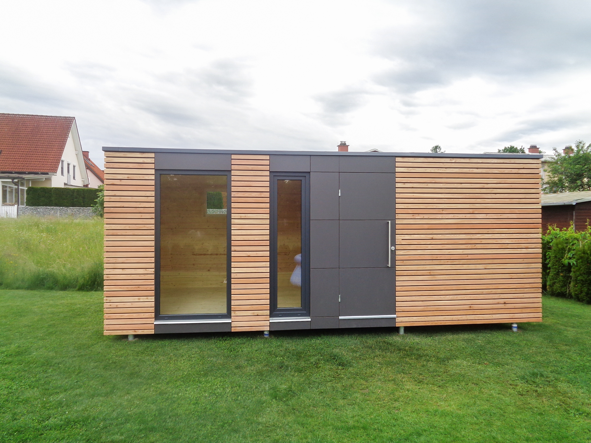 Design Gartenhaus design gartenhaus mit fundermax platten s12 weisskirchen
