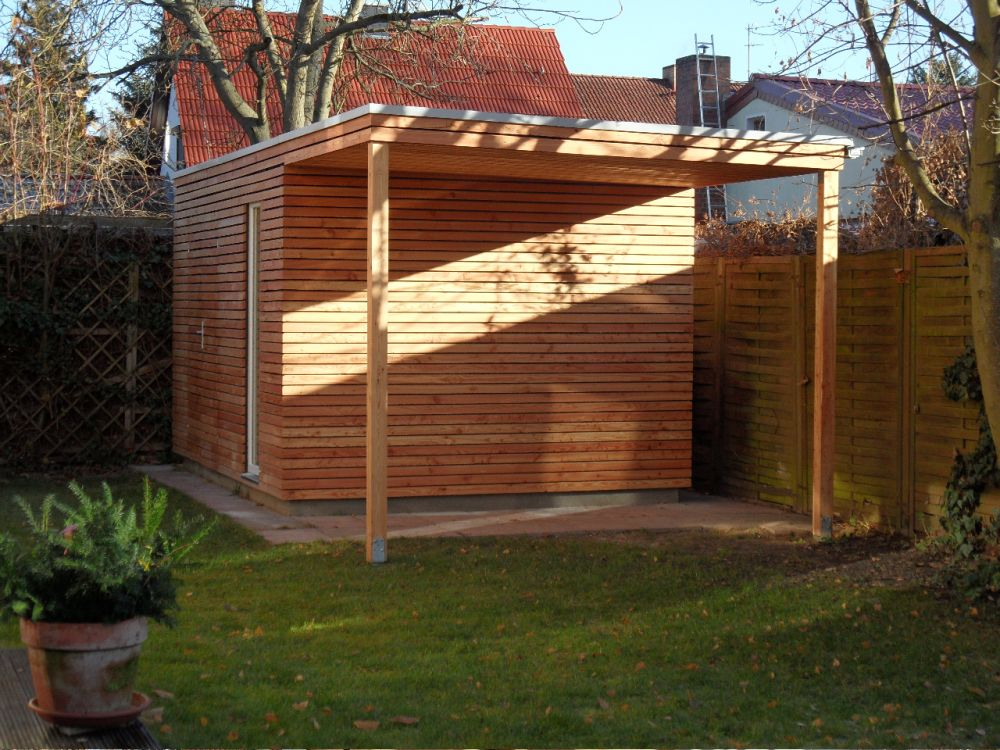 Modernes Gartenhaus moderne gartenhaus s9 3 94 x 2 94 m berlin referenzen