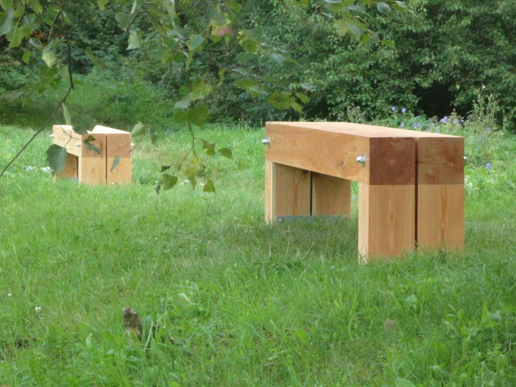 Holzbänke NATURHOUSE - Hostenice - Referenzen NATURHOUSE®   NATURHOUSE®